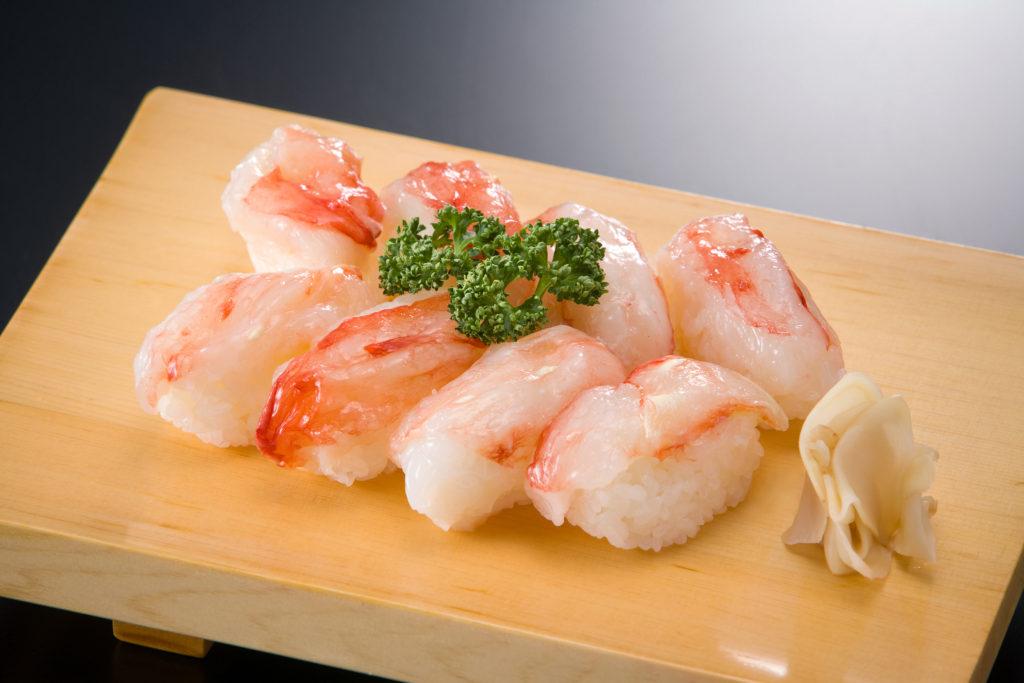 タラバカニ寿司
